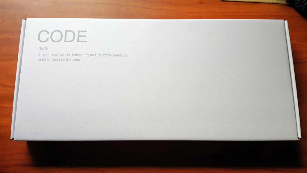 code keyboard box