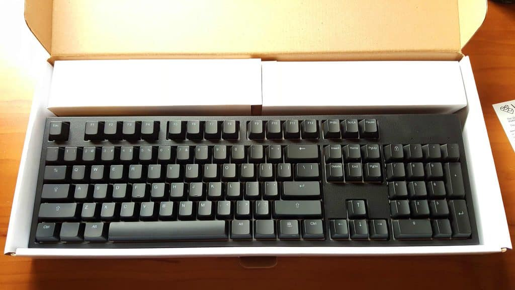 code mechanical keyboard unboxing