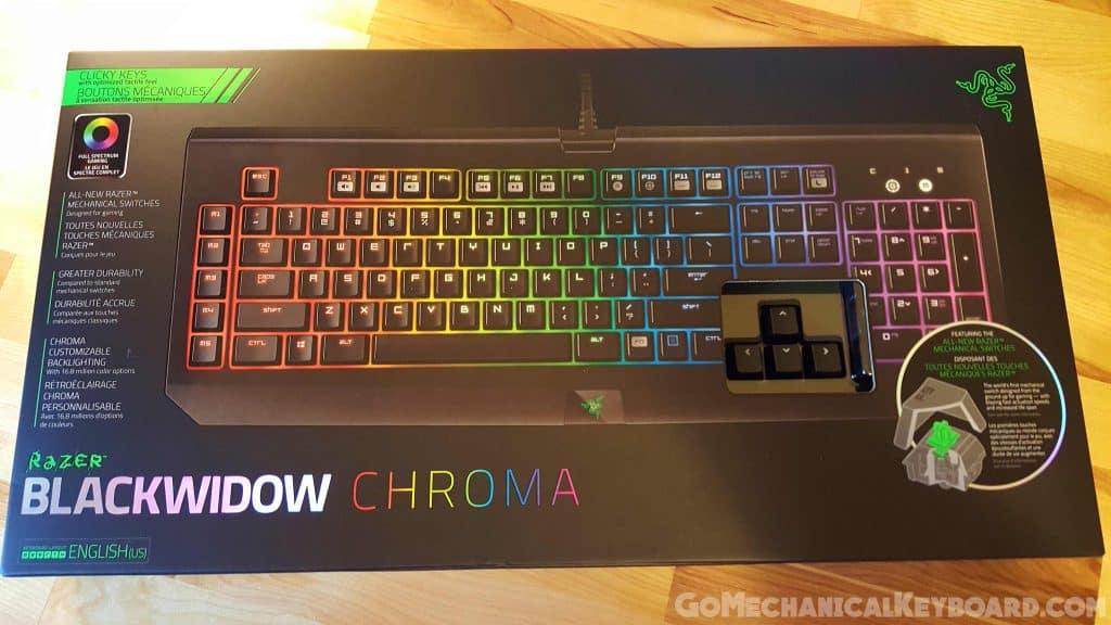Razer BlackWidow Chroma Box