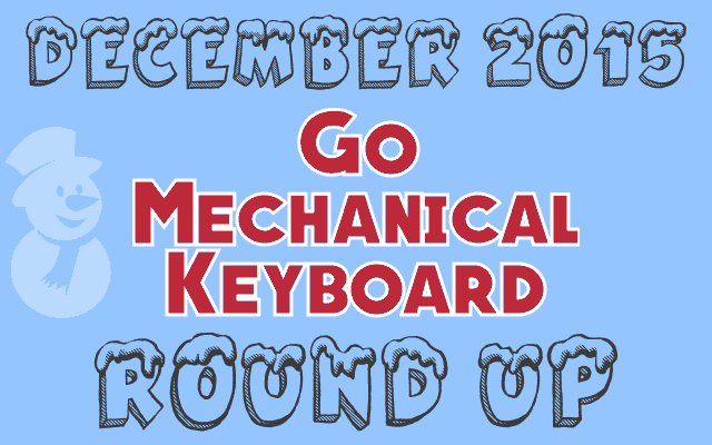 mechanical keyboard dec 2015