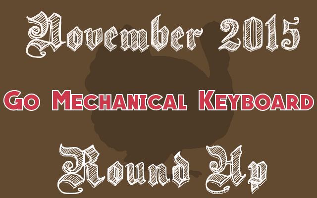 November mechanical keyboard 2015