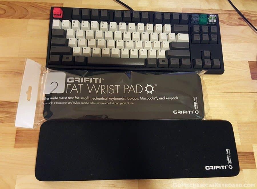 grifiti fat wrist pads