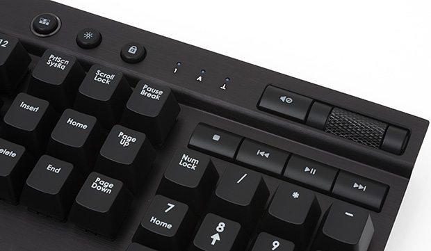 corsair k70 media keys
