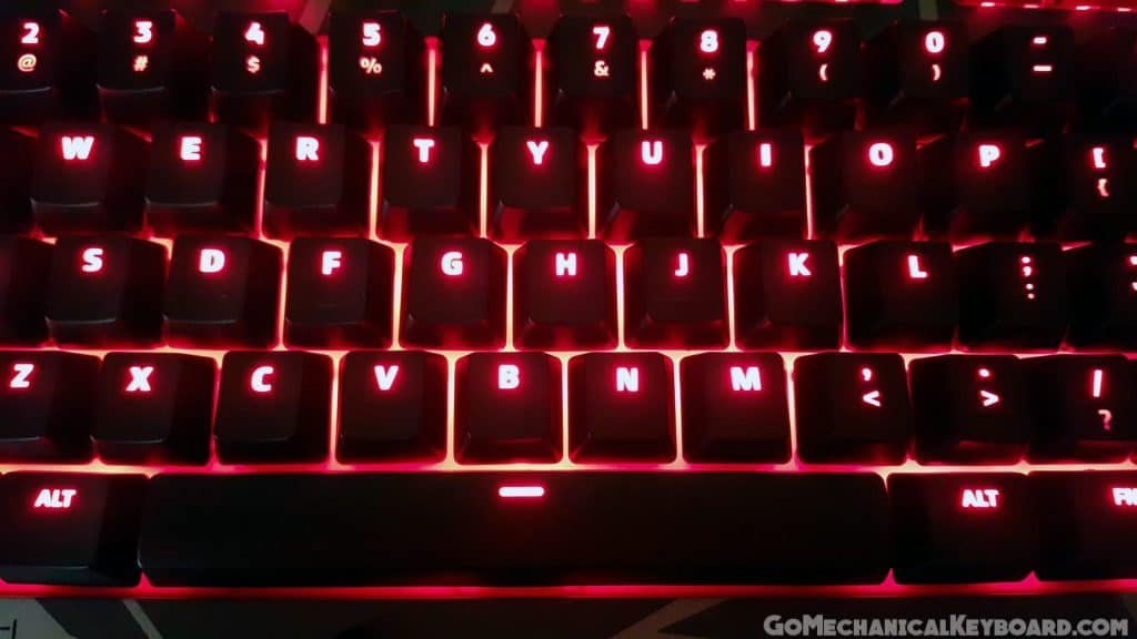 division zero x40 red backlights