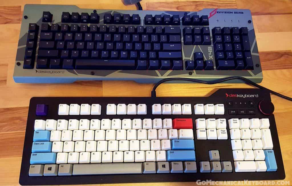 division zero x40 vs das keyboard 4 pro