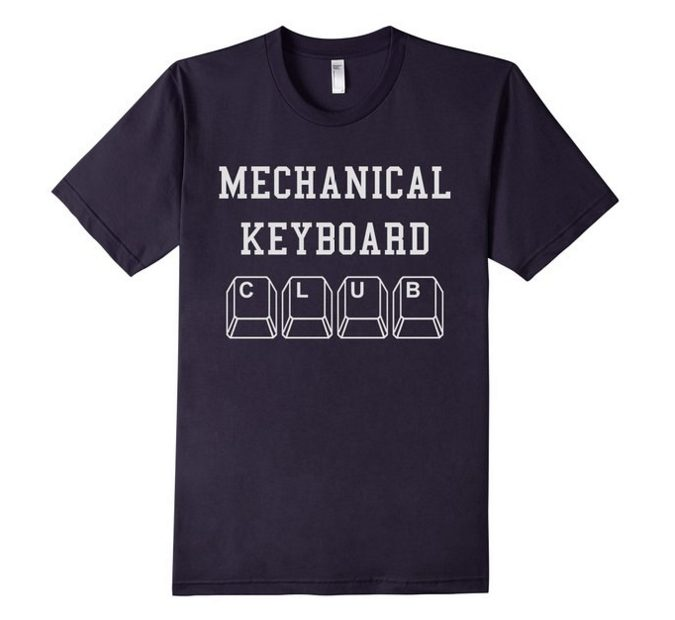 mechanical keyboard t-shirt