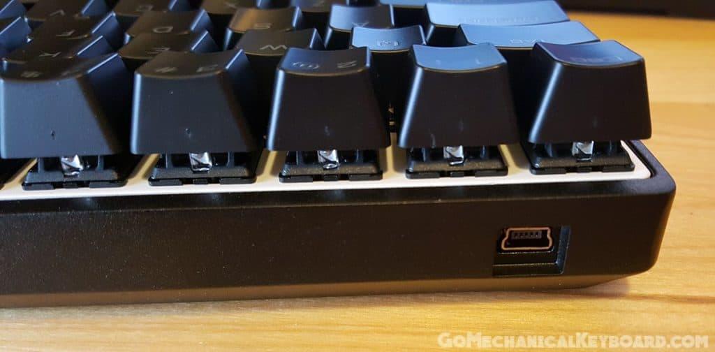 CODE 61 key USB input