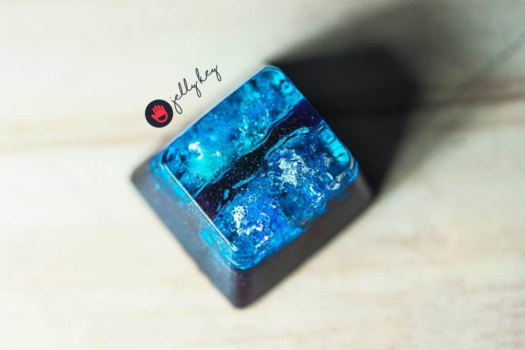 jelly key galaxy keycaps