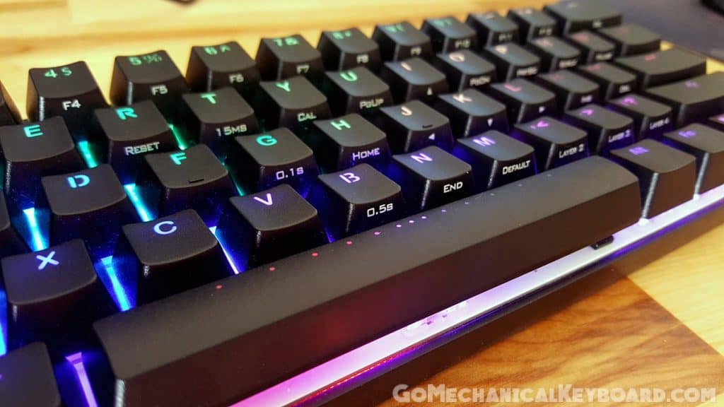Vortex Pok3r RGB review Go Mechanical Keyboard