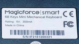 magicforce 68 label
