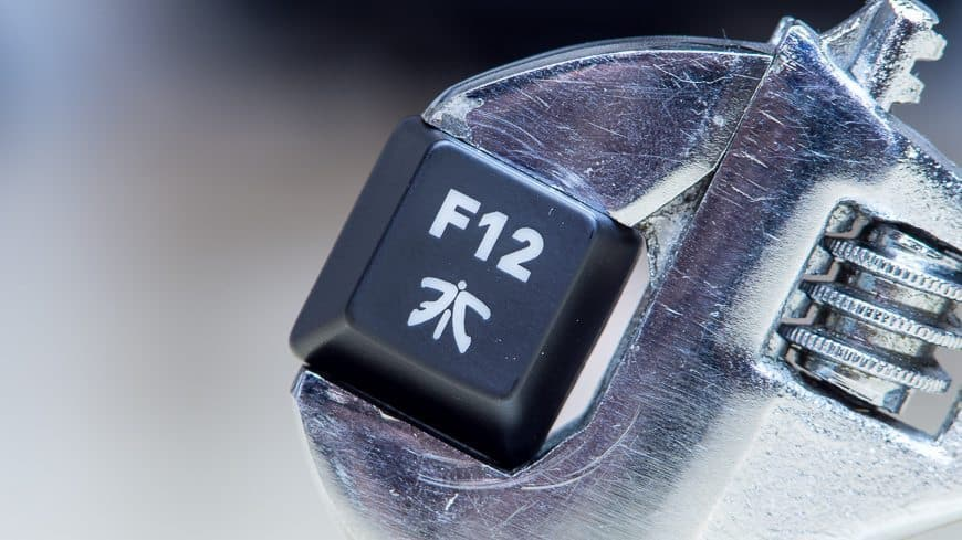 fnatic gear rush g1 silent review simply quiet go mechanical keyboard. Black Bedroom Furniture Sets. Home Design Ideas