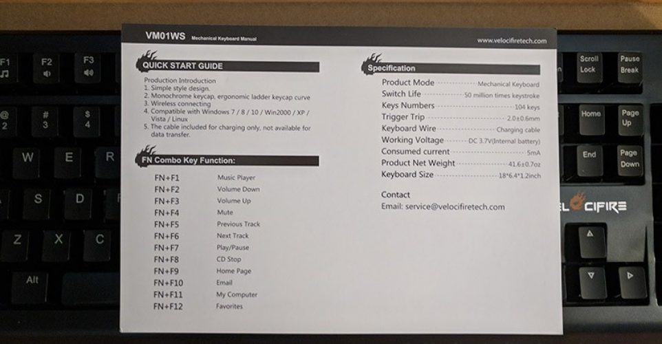 Velocifire-Wireless-VM01-Manual
