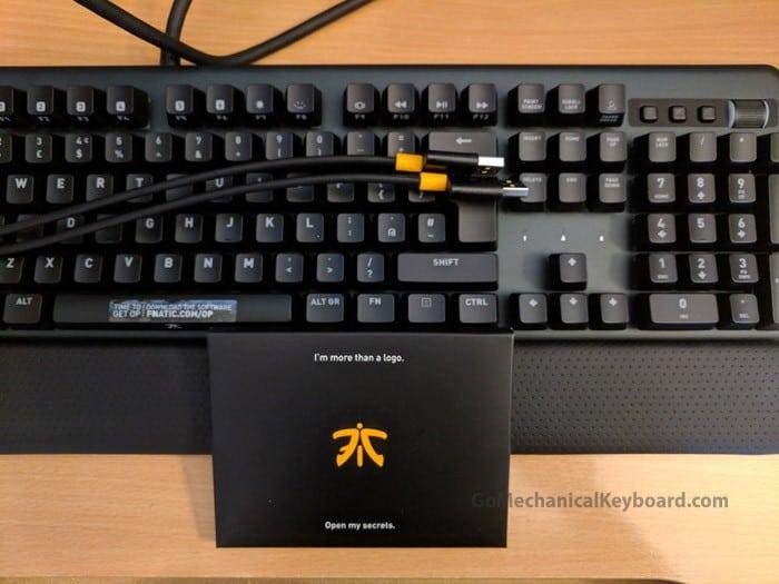bfef7abd4fd Fnatic Streak Review: A Gaming Mechanical Beast   Go Mechanical Keyboard