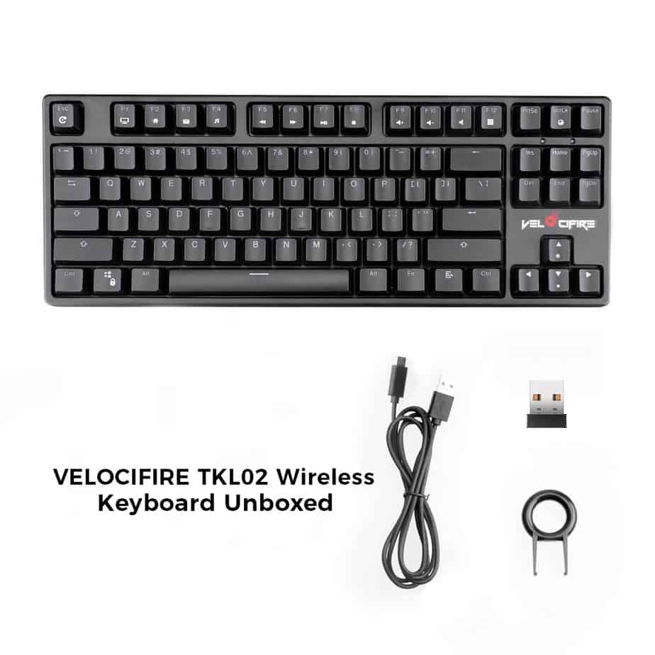 TKL02 Wireless Mechanical Keyboard - Unboxing