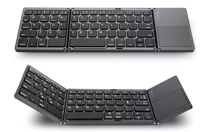 Fold-able Bluetooth Keyboard