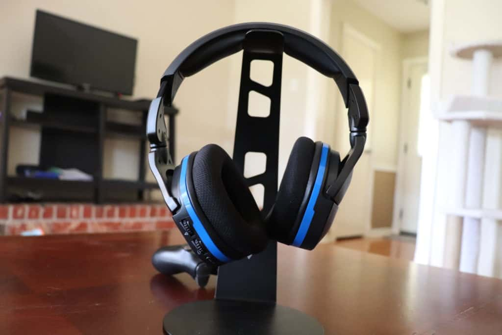 Headset on stand